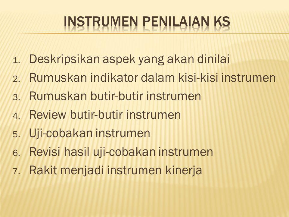 Instrumen Penilaian KS