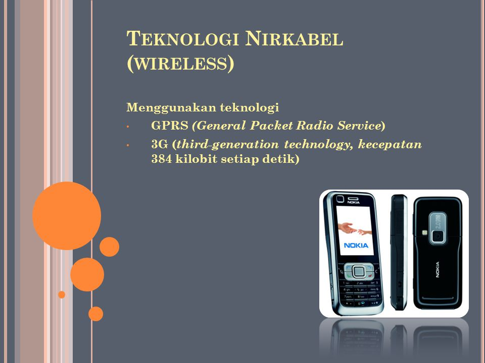 Teknologi Nirkabel (wireless)