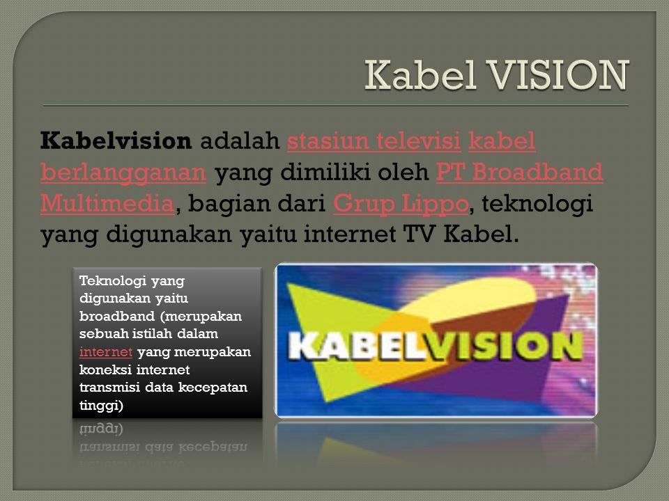 Kabel VISION