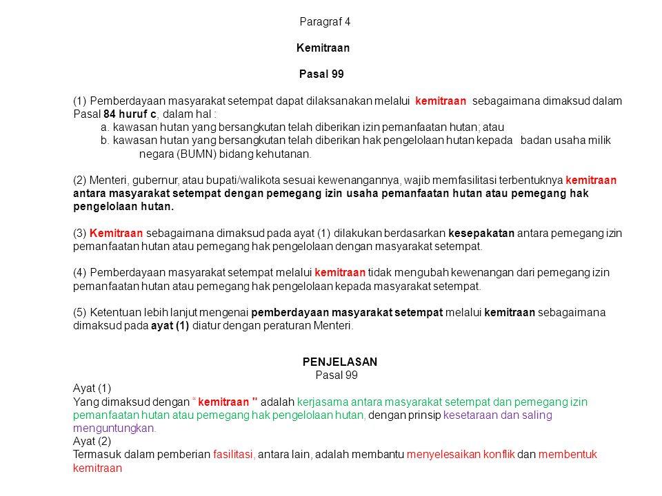 Paragraf 4 Kemitraan.