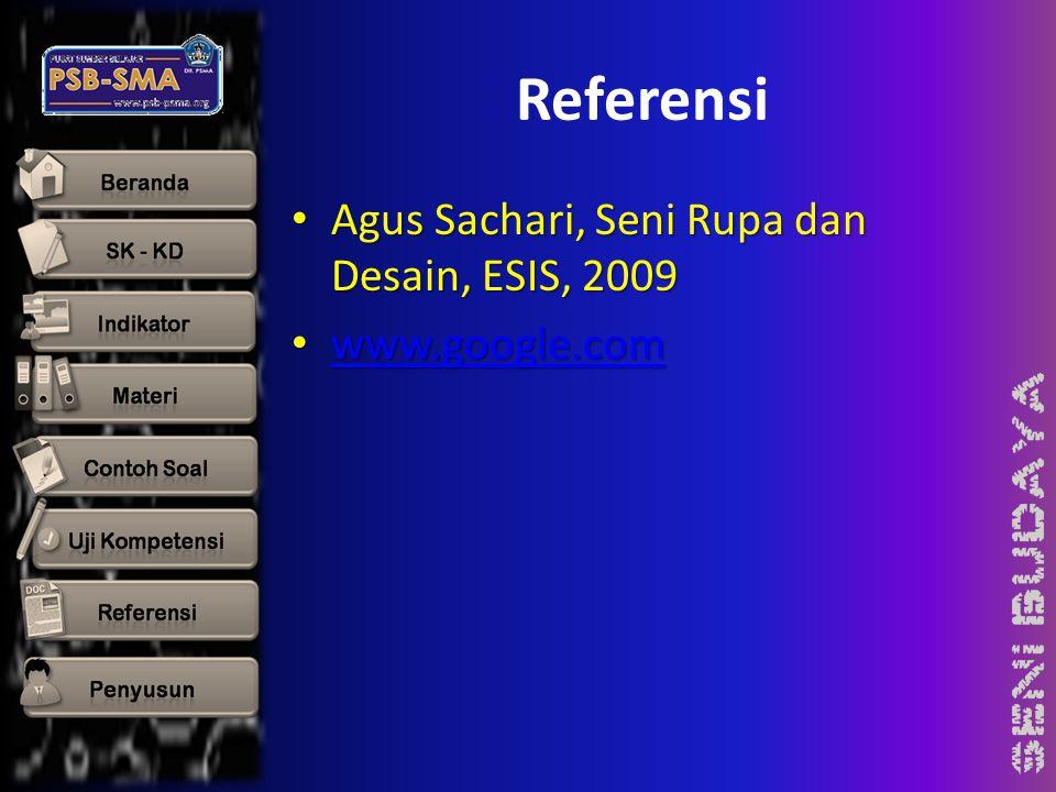 Referensi Agus Sachari, Seni Rupa dan Desain, ESIS, 2009
