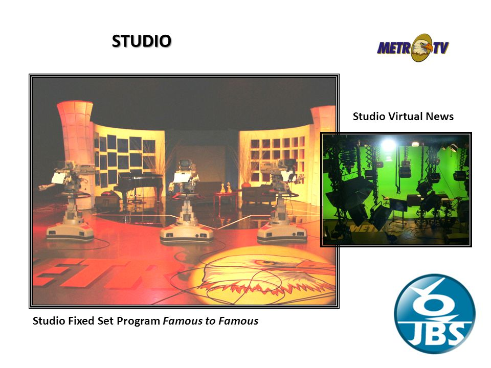 STUDIO Studio Virtual News Studio Fixed Set Program Famous to Famous