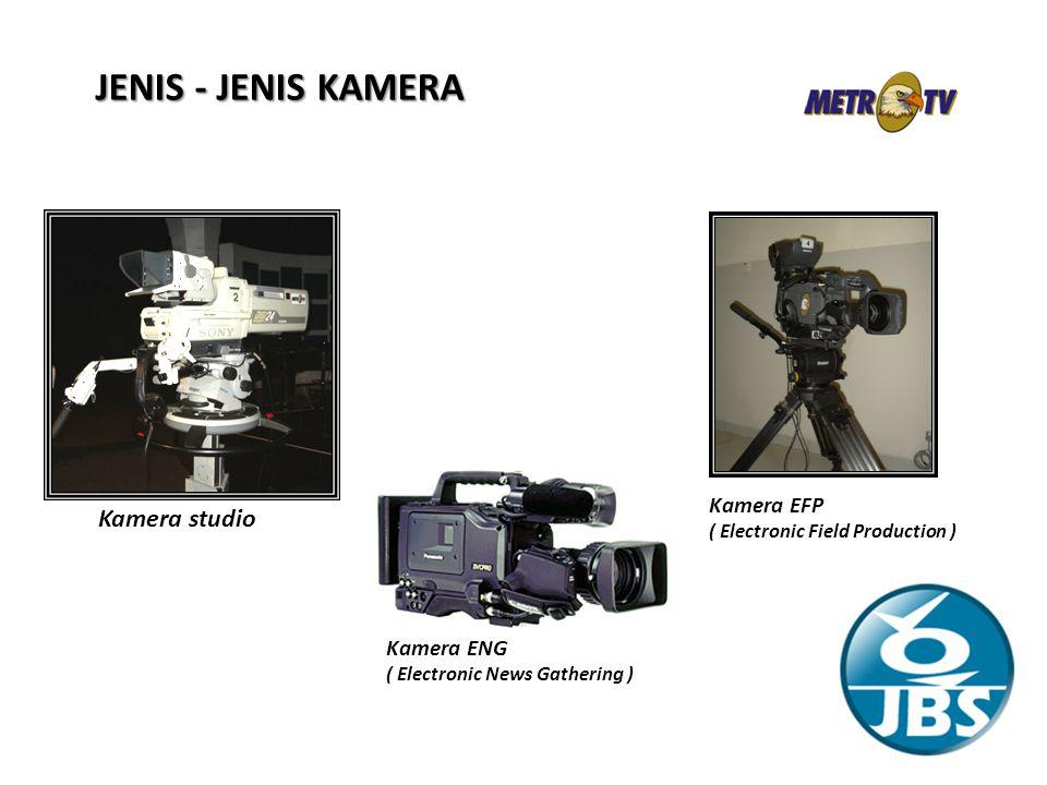JENIS - JENIS KAMERA Kamera studio Kamera EFP Kamera ENG