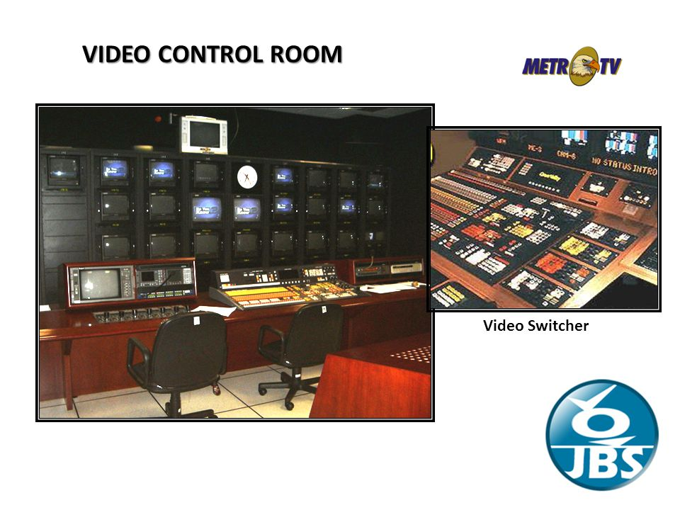 VIDEO CONTROL ROOM Video Switcher Control Room