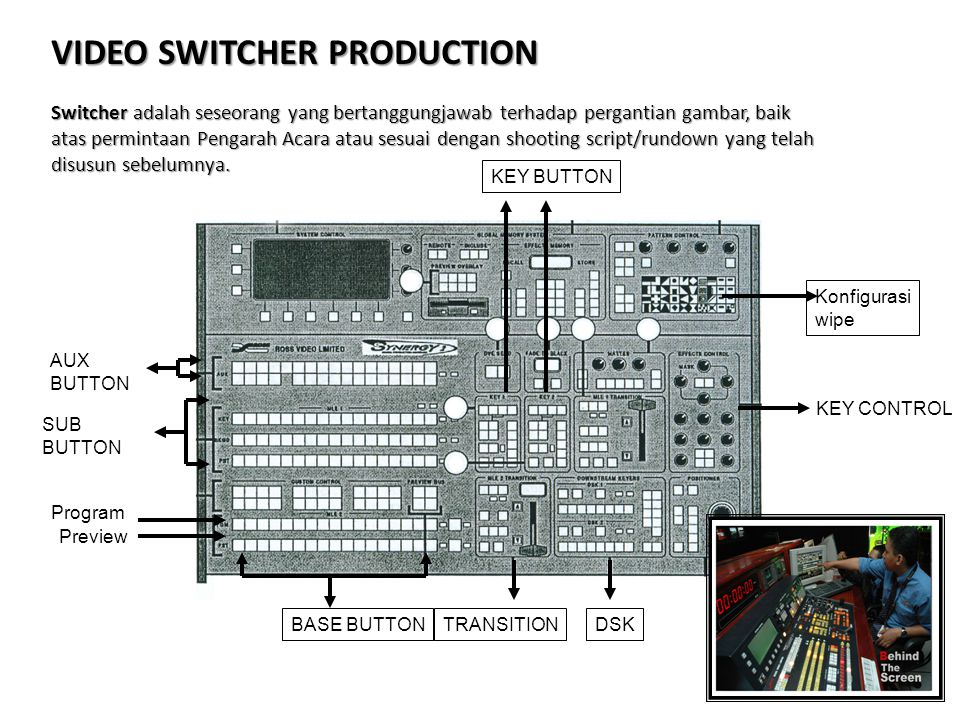 VIDEO SWITCHER PRODUCTION