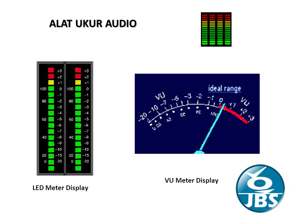 ALAT UKUR AUDIO VU Meter Display LED Meter Display