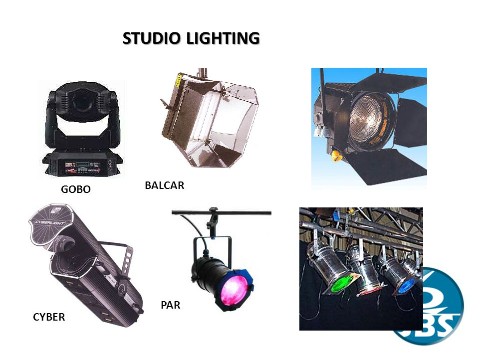 STUDIO LIGHTING BALCAR GOBO PAR CYBER