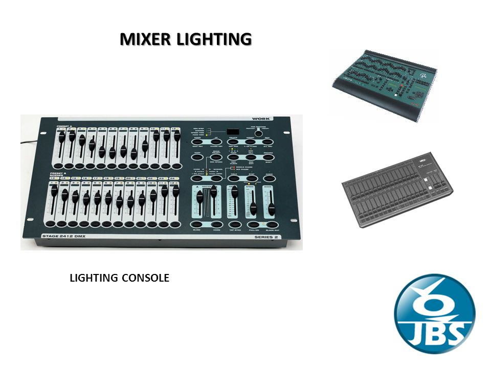 MIXER LIGHTING LIGHTING CONSOLE