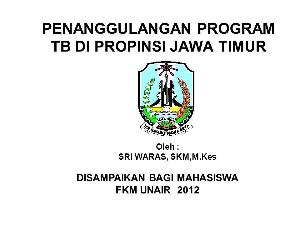 PENANGGULANGAN PROGRAM TB DI PROPINSI JAWA TIMUR
