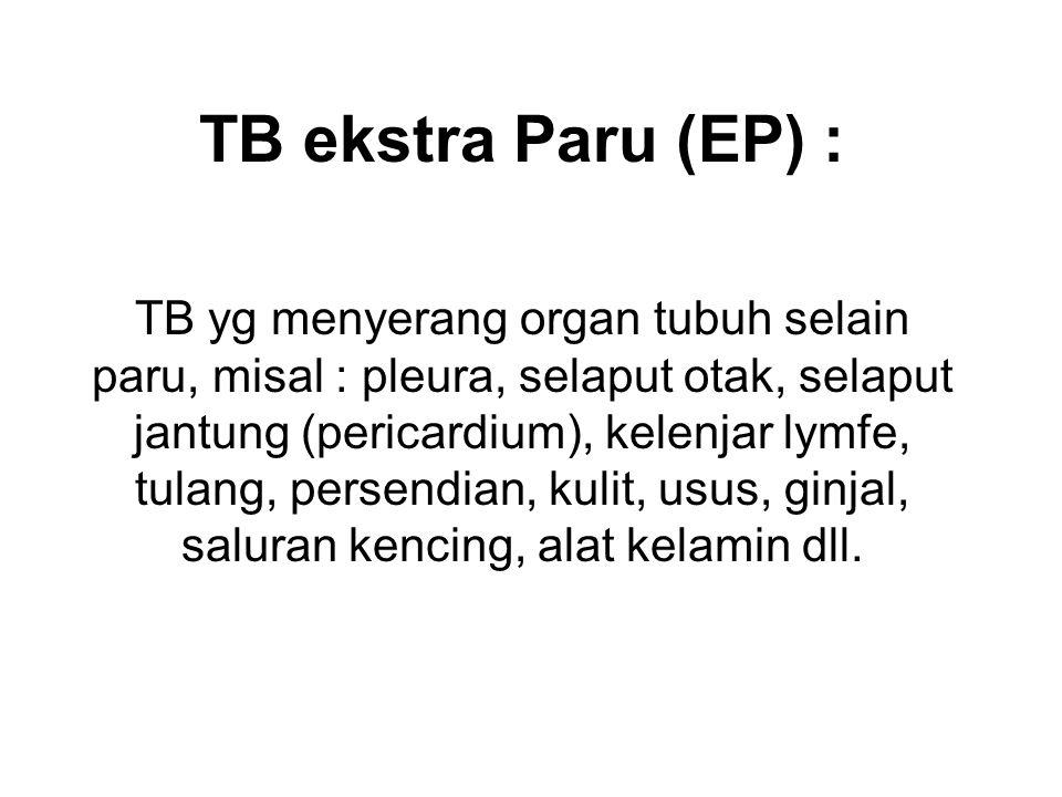 TB ekstra Paru (EP) :