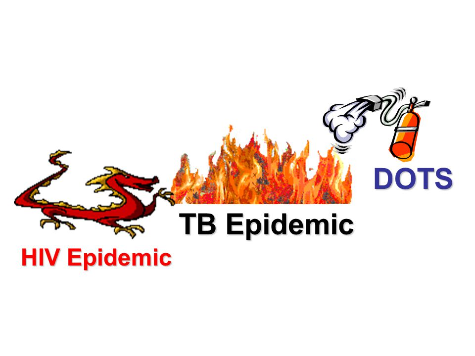 DOTS TB Epidemic HIV Epidemic