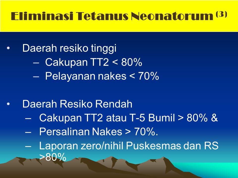 Eliminasi Tetanus Neonatorum (3)