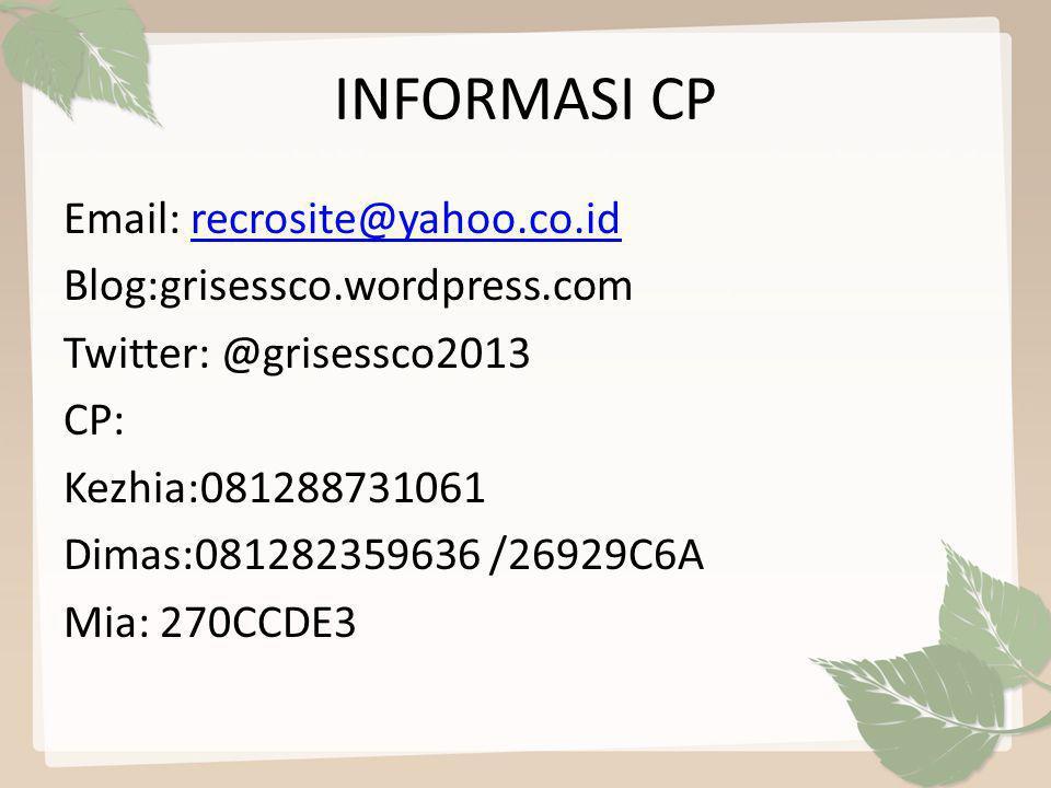 INFORMASI CP
