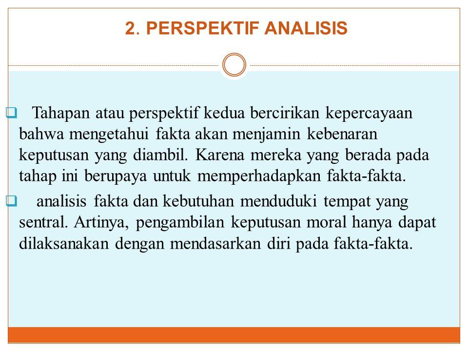 2. PERSPEKTIF ANALISIS
