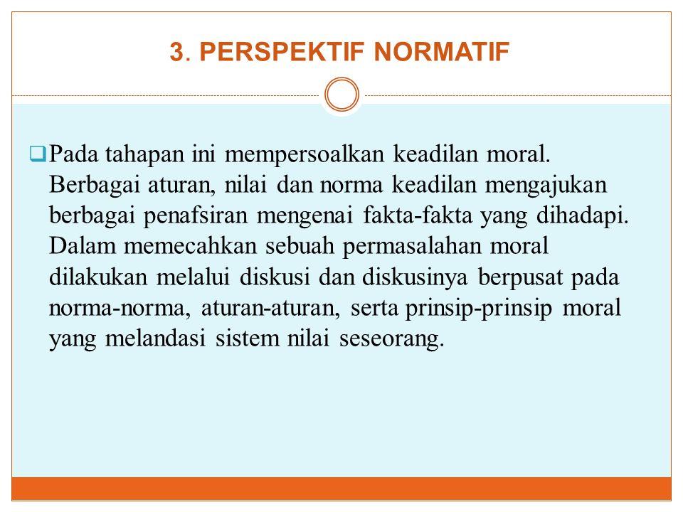 3. PERSPEKTIF NORMATIF