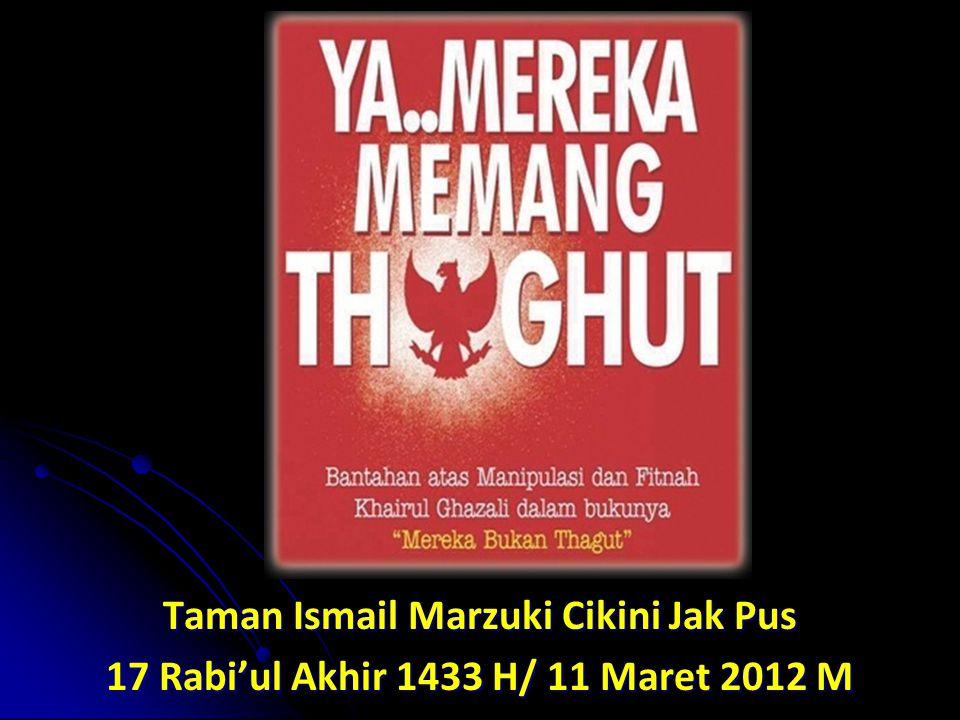 Taman Ismail Marzuki Cikini Jak Pus