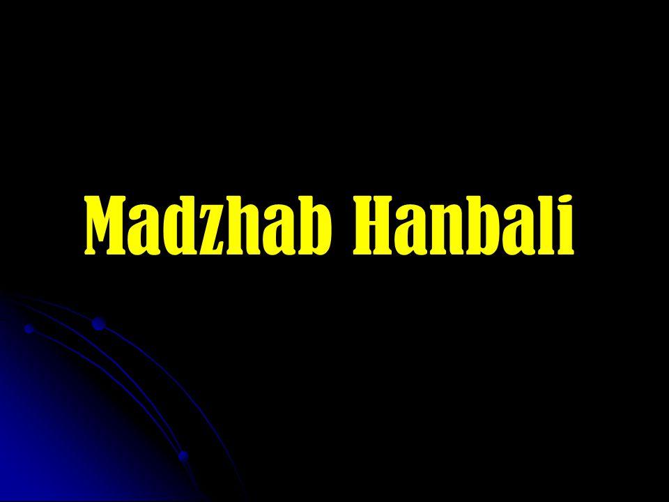 Madzhab Hanbali