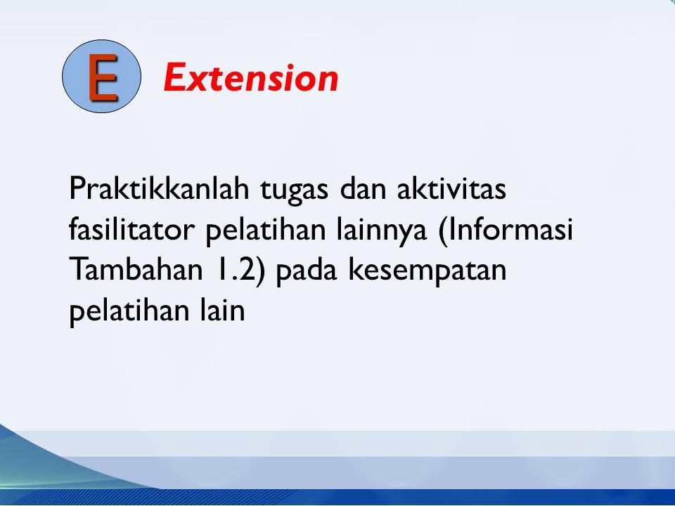 Extension E.