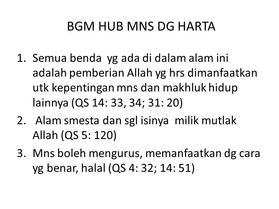BGM HUB MNS DG HARTA