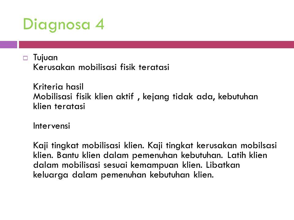 Diagnosa 4