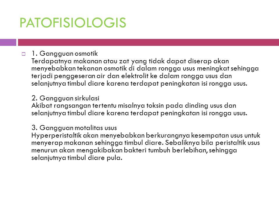 PATOFISIOLOGIS