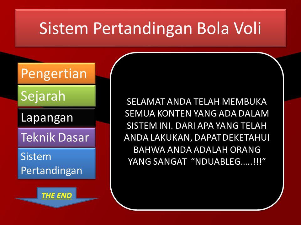 Sistem Pertandingan Bola Voli