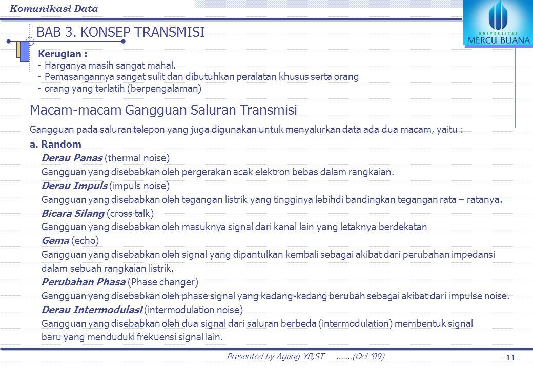 BAB 3. KONSEP TRANSMISI Phase Jitter