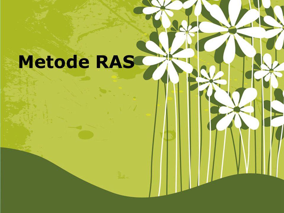 Metode RAS