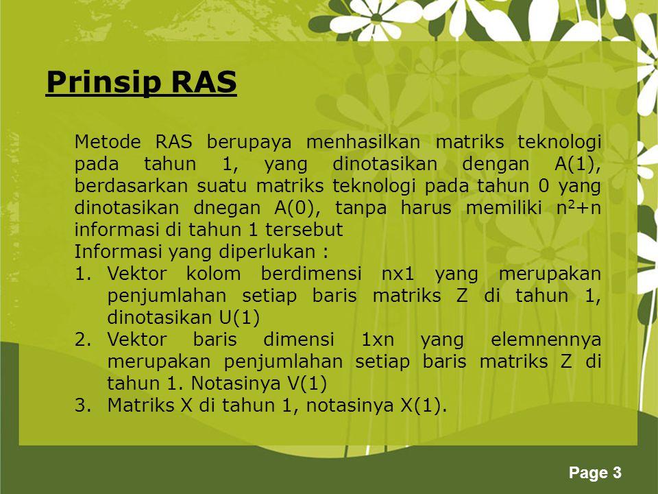 Prinsip RAS