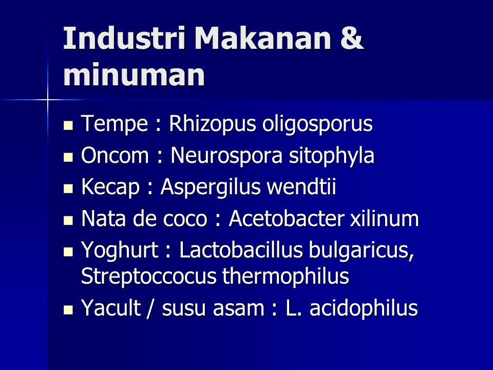 Industri Makanan & minuman