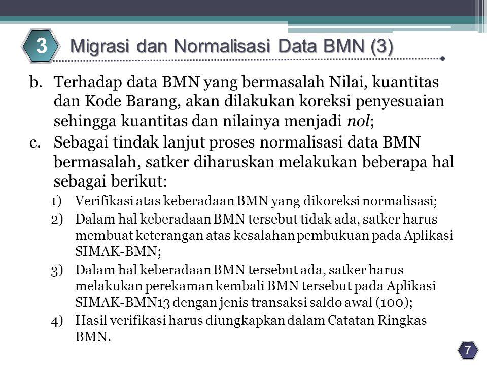 3 Migrasi dan Normalisasi Data BMN (3)