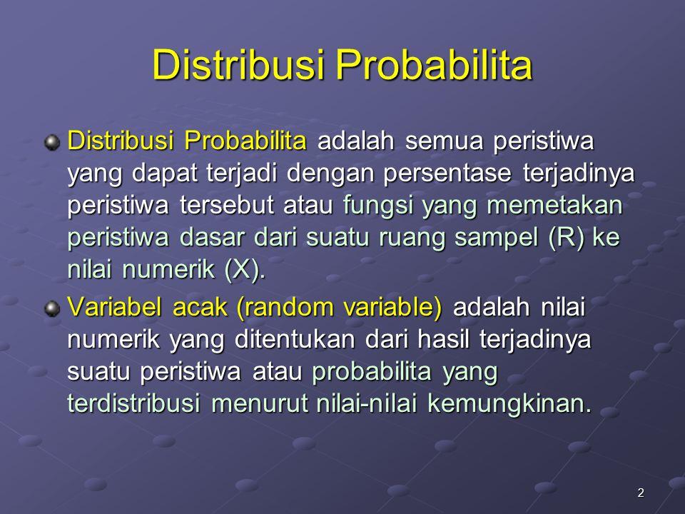 Distribusi Probabilita