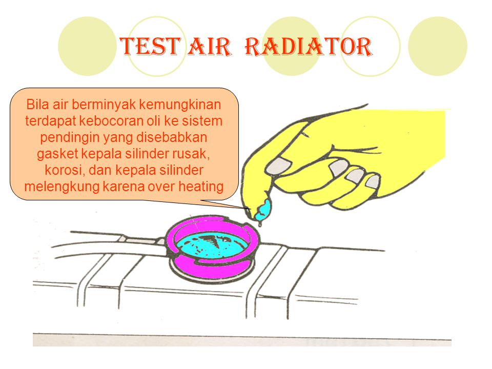 Test Air Radiator