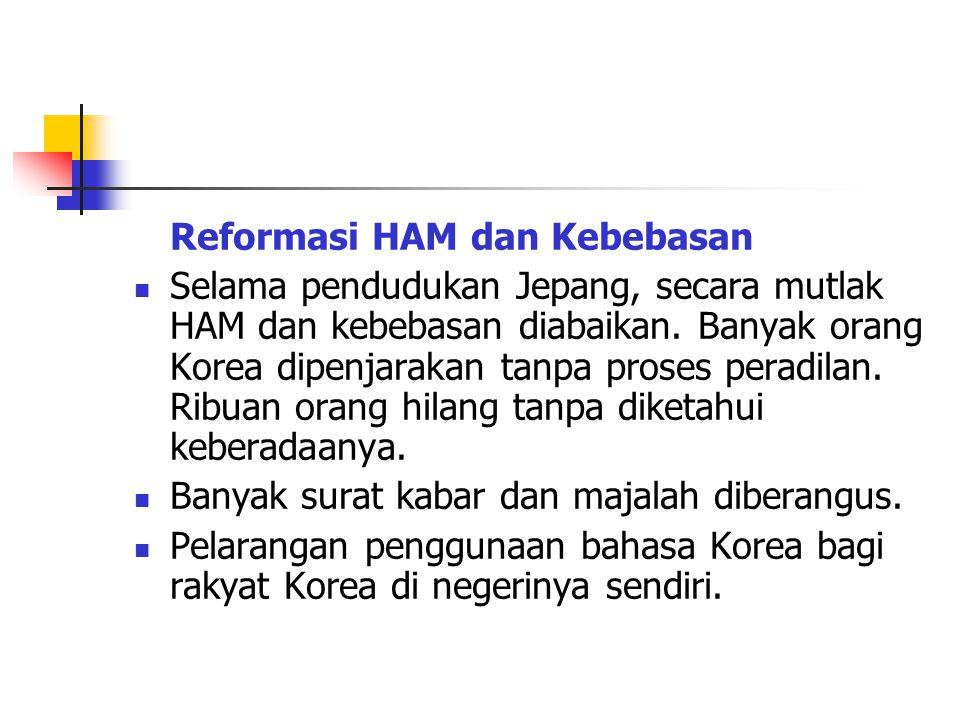 Reformasi HAM dan Kebebasan