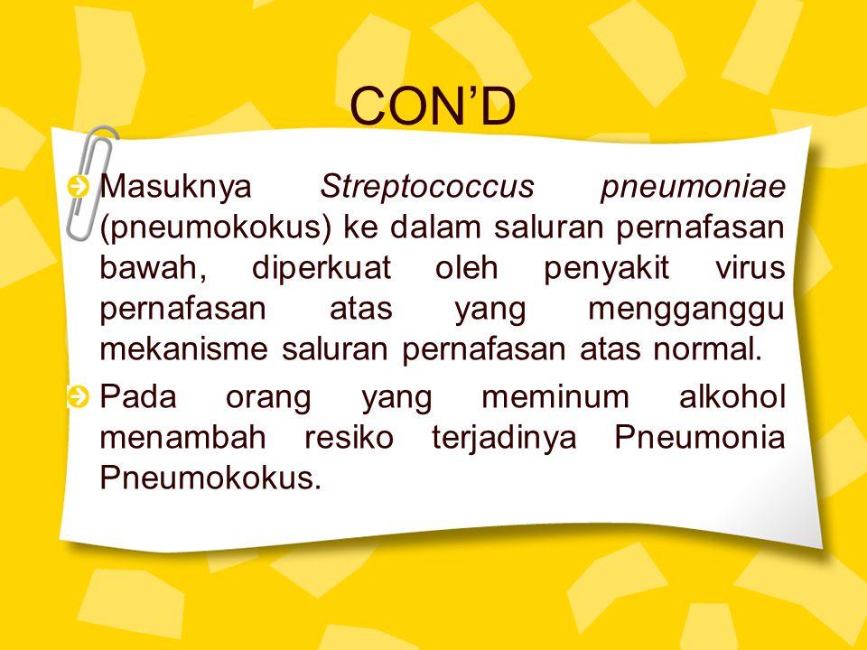 CON'D