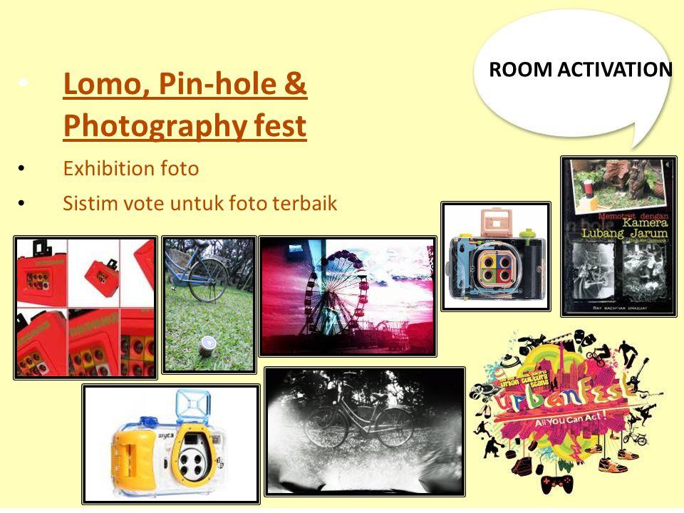 Lomo, Pin-hole & Photography fest