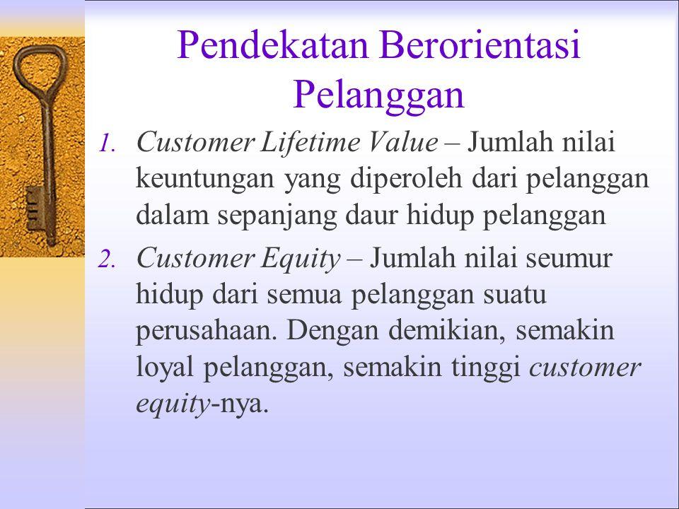 Pendekatan Berorientasi Pelanggan