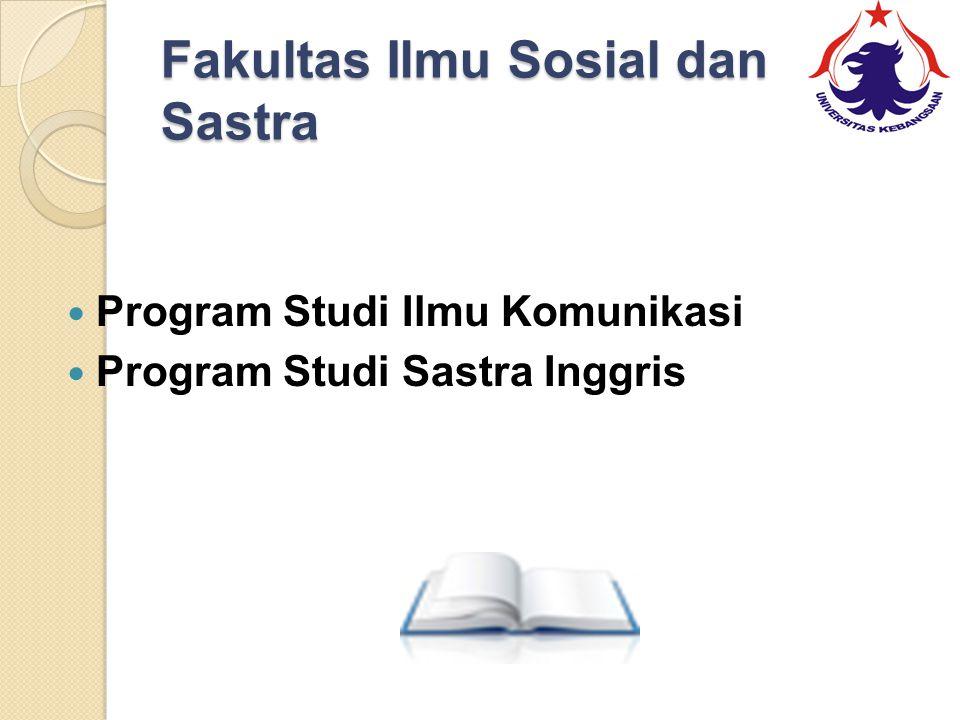 Fakultas Ilmu Sosial dan Sastra