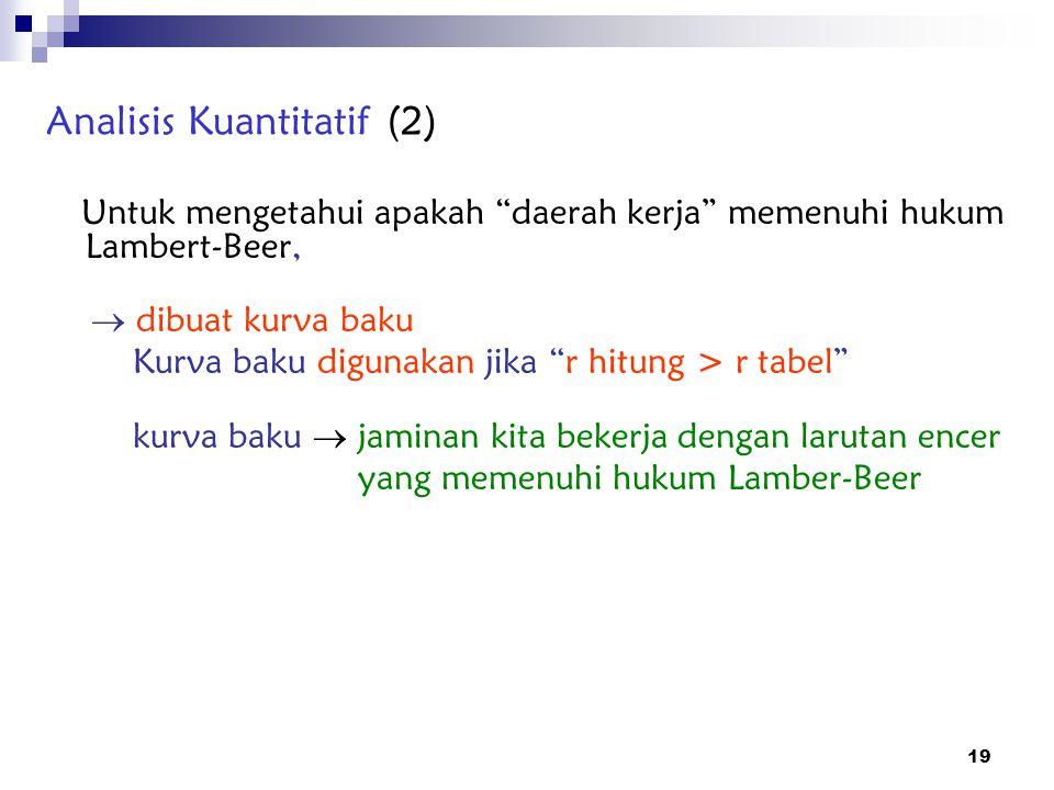 Analisis Kuantitatif (2)