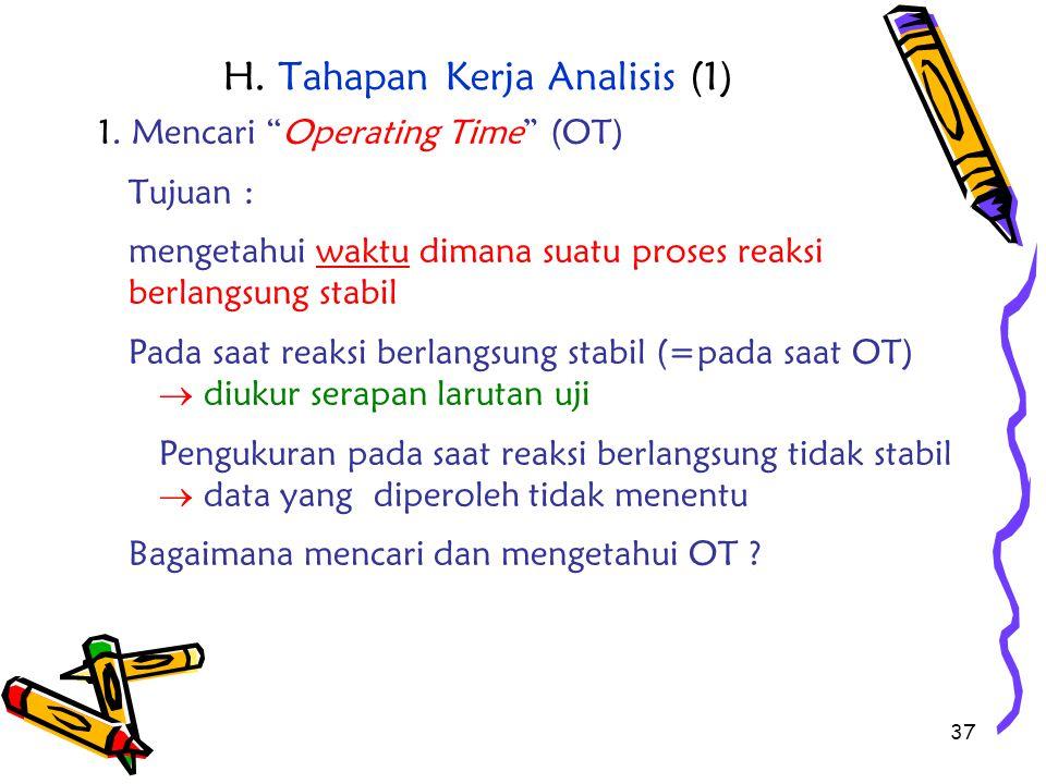 H. Tahapan Kerja Analisis (1)