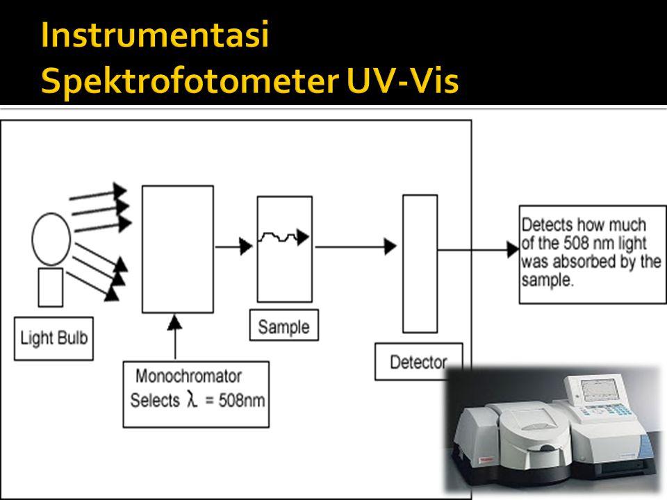 Instrumentasi Spektrofotometer UV-Vis