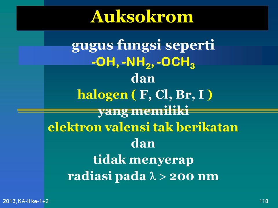 elektron valensi tak berikatan