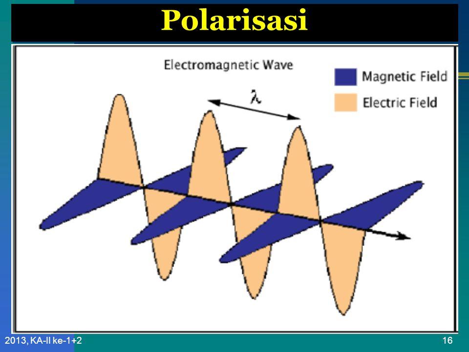 Polarisasi 2013, KA-II ke-1+2