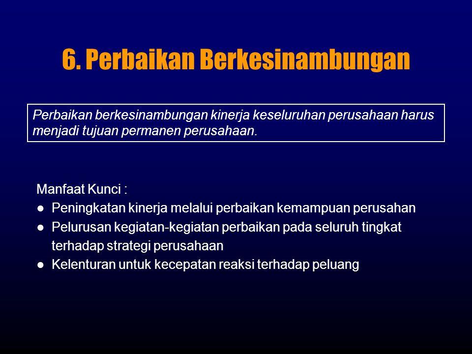 6. Perbaikan Berkesinambungan