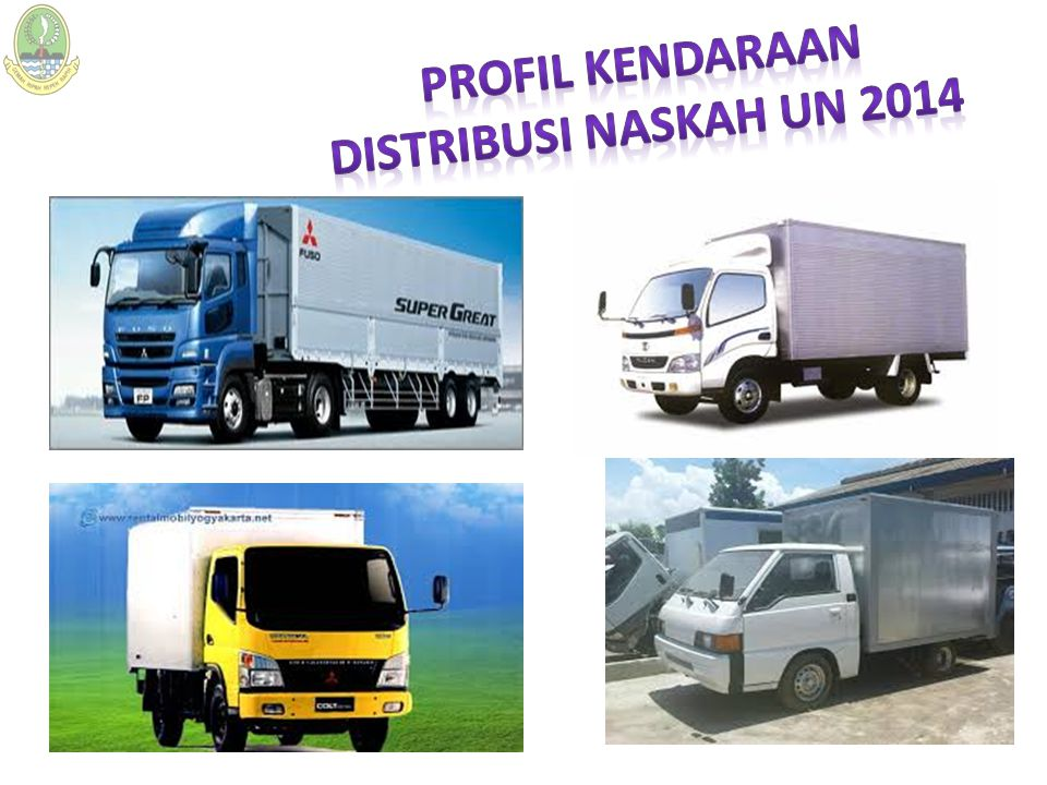 Profil kendaraan Distribusi naskah un 2014