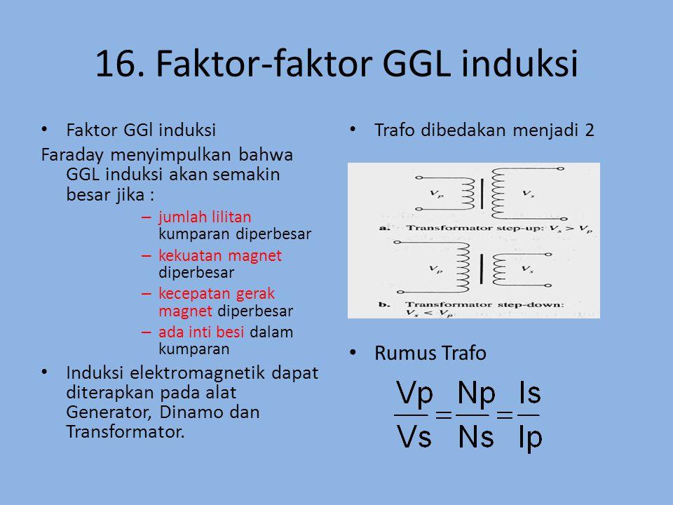 16. Faktor-faktor GGL induksi