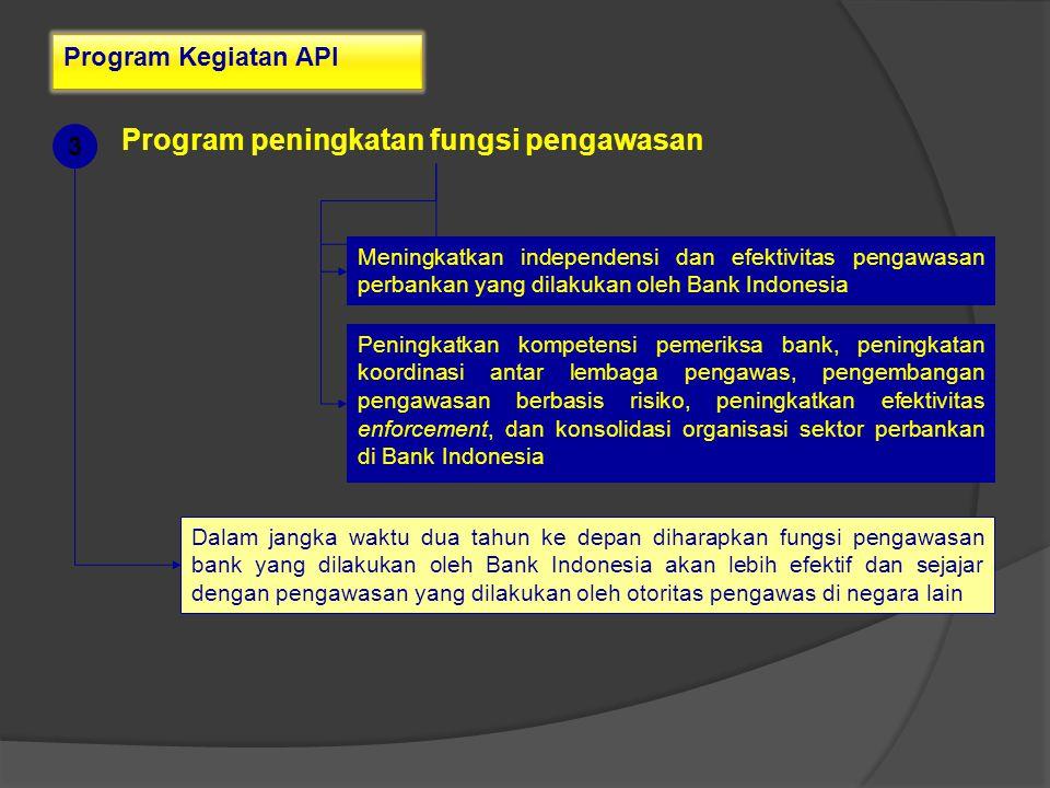 Program peningkatan fungsi pengawasan