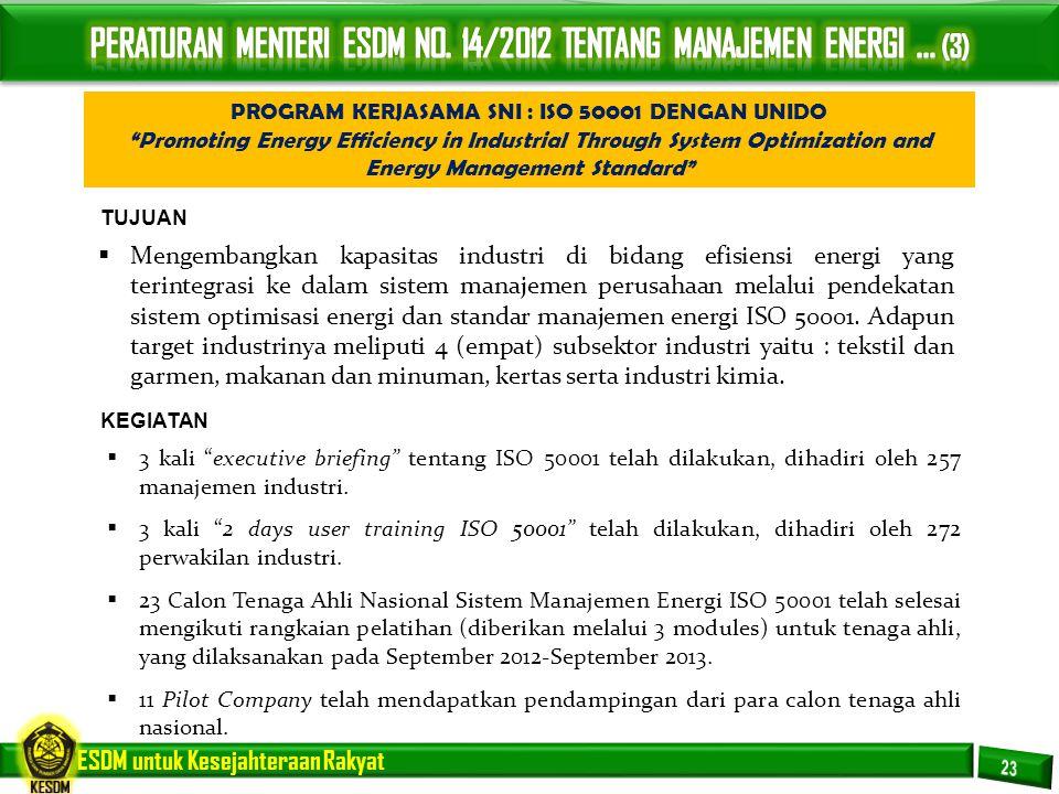 PERATURAN MENTERI ESDM NO. 14/2012 TENTANG MANAJEMEN ENERGI ... (3)