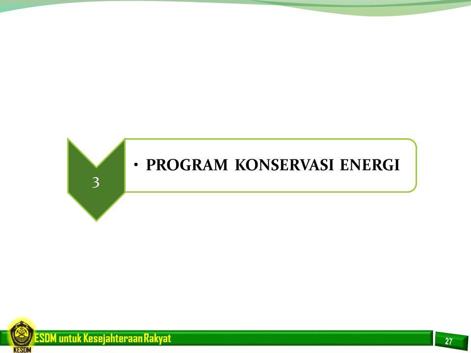PROGRAM KONSERVASI ENERGI