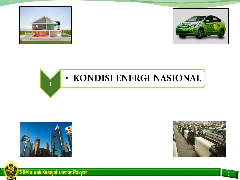 1 KONDISI ENERGI NASIONAL
